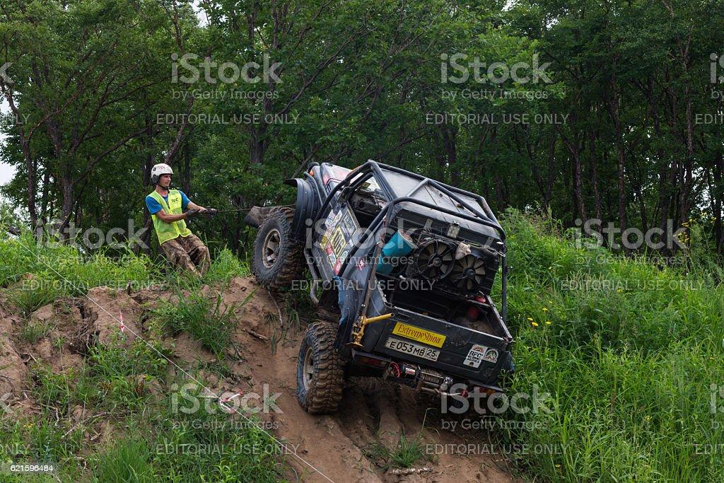 RFC - Rainforest Challenge 13. In 10 toughest off-road races stock photo