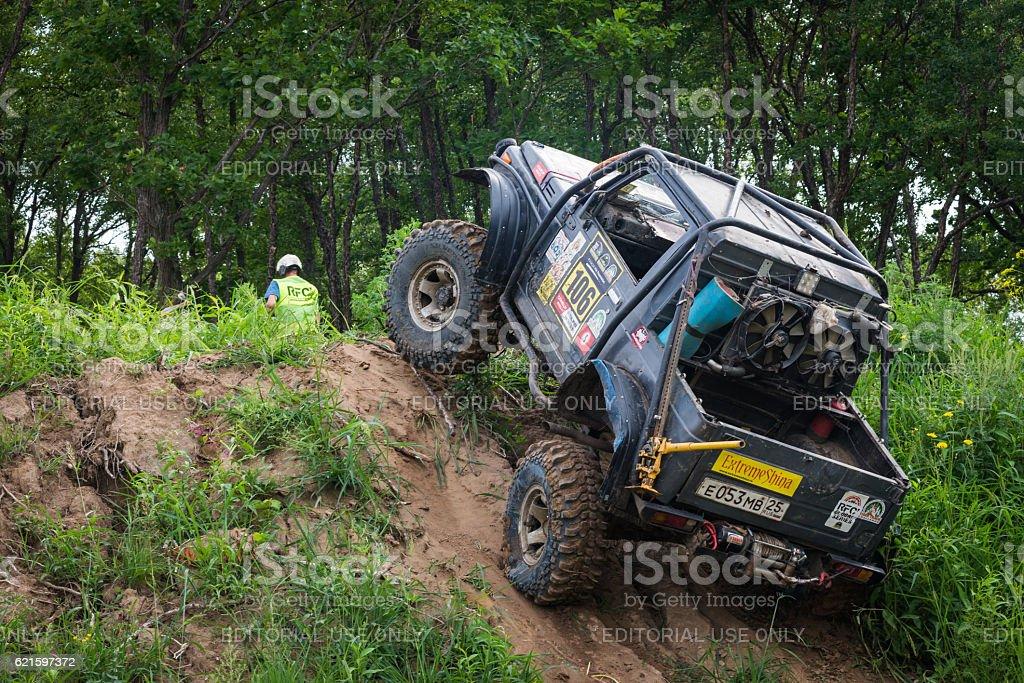 RFC - Rainforest Challenge 14. In 10 toughest off-road races stock photo