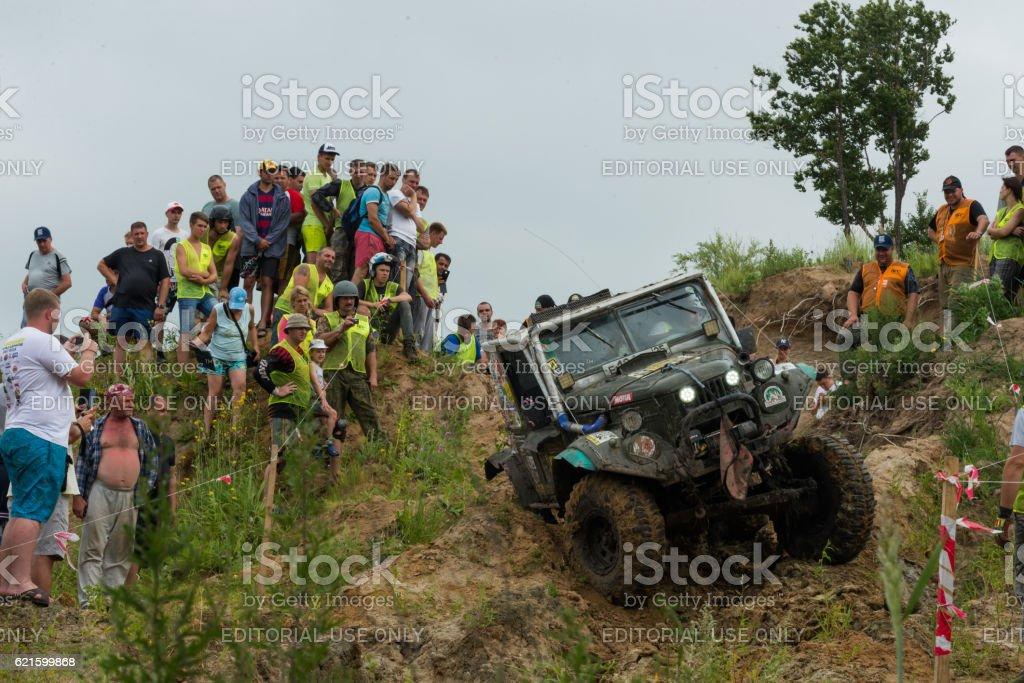 RFC - Rainforest Challenge 17. In 10 toughest off-road races stock photo