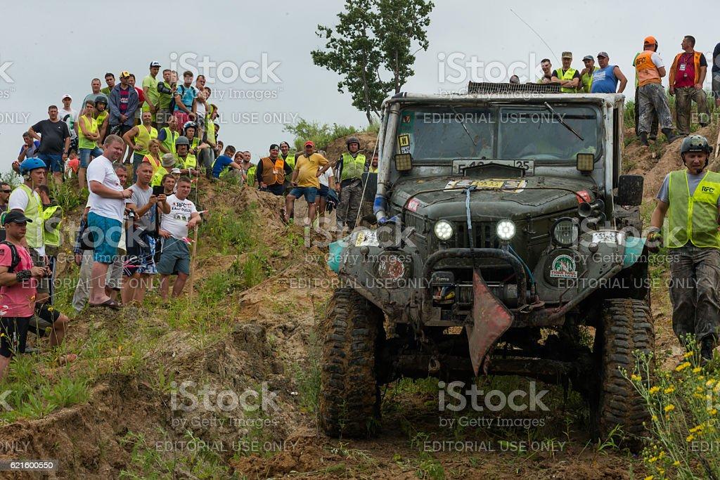 RFC - Rainforest Challenge 18. In 10 toughest off-road races stock photo