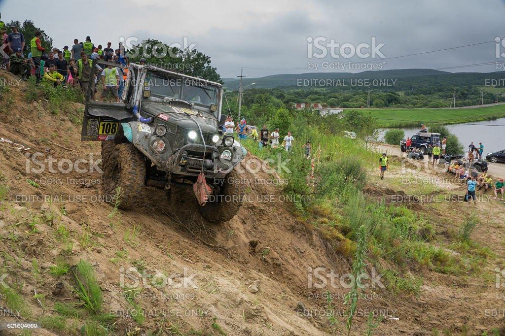 RFC - Rainforest Challenge 5. In 10 toughest off-road races stock photo
