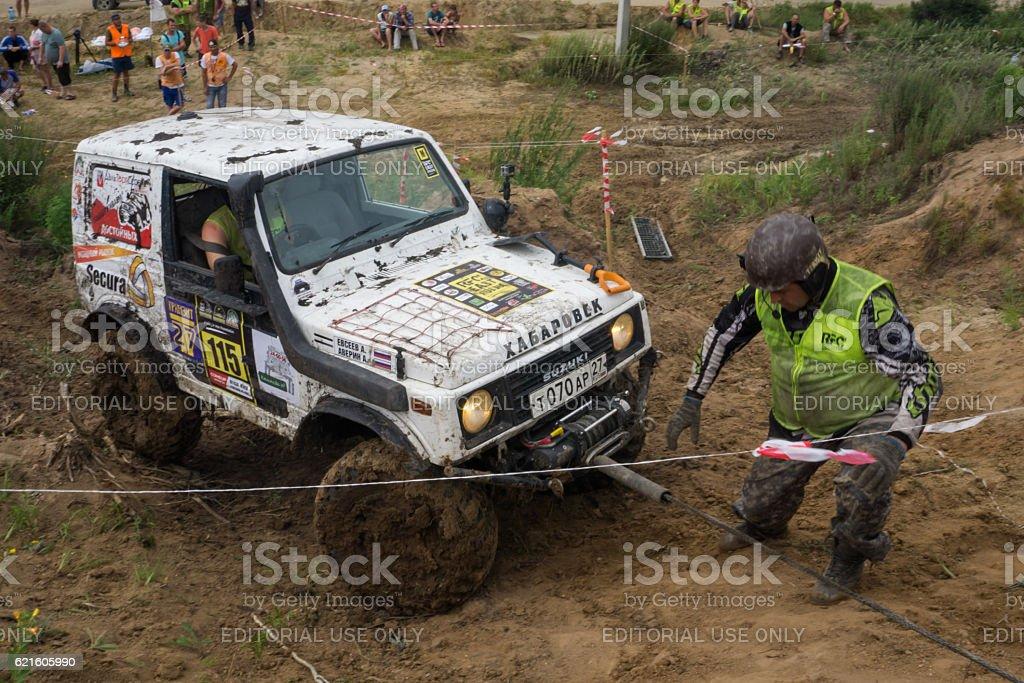 RFC - Rainforest Challenge 7. In 10 toughest off-road races stock photo