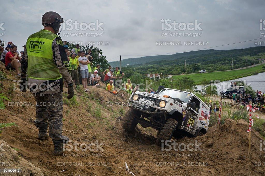 RFC - Rainforest Challenge 8. In 10 toughest off-road races stock photo