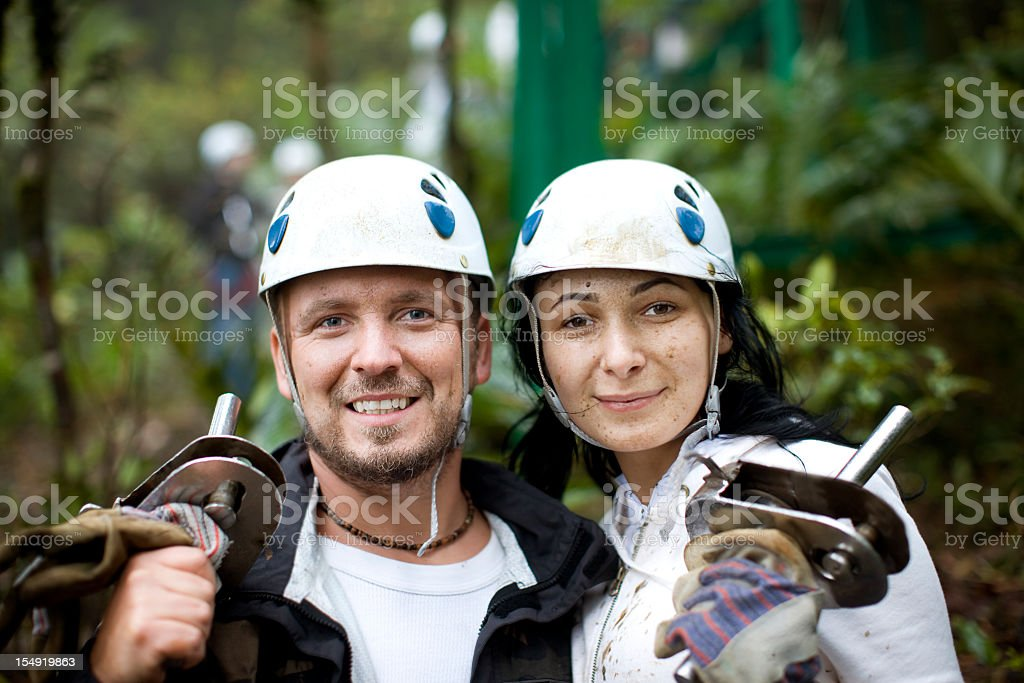 Rainforest Couple royalty-free stock photo