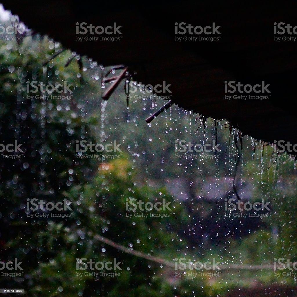 Raining Atmosphere royalty-free stock photo