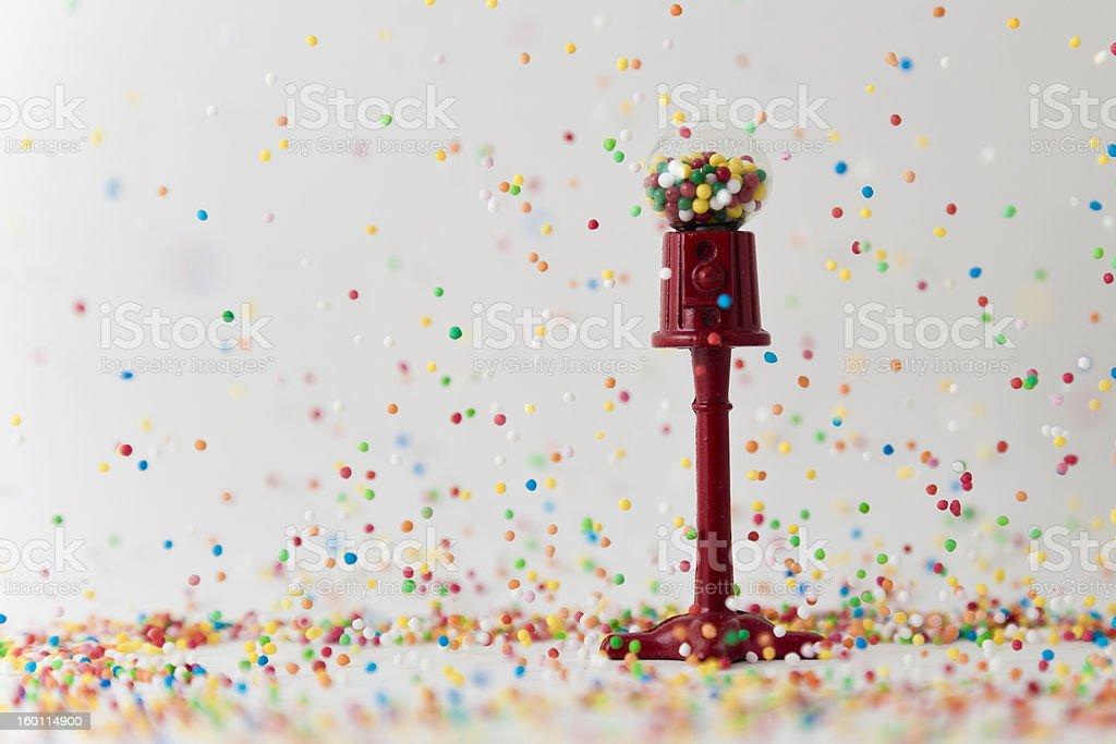 Raining Bubblegum stock photo