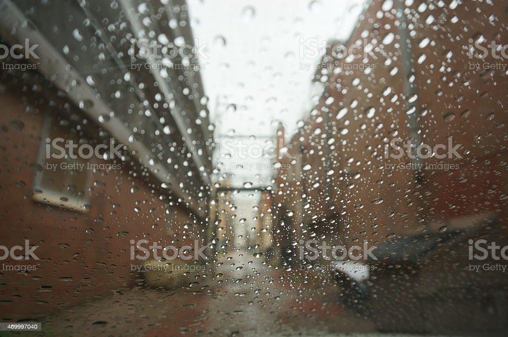 Raining Pain stock photo