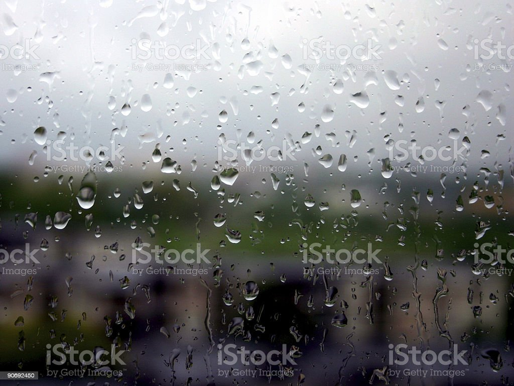 Raining.. royalty-free stock photo