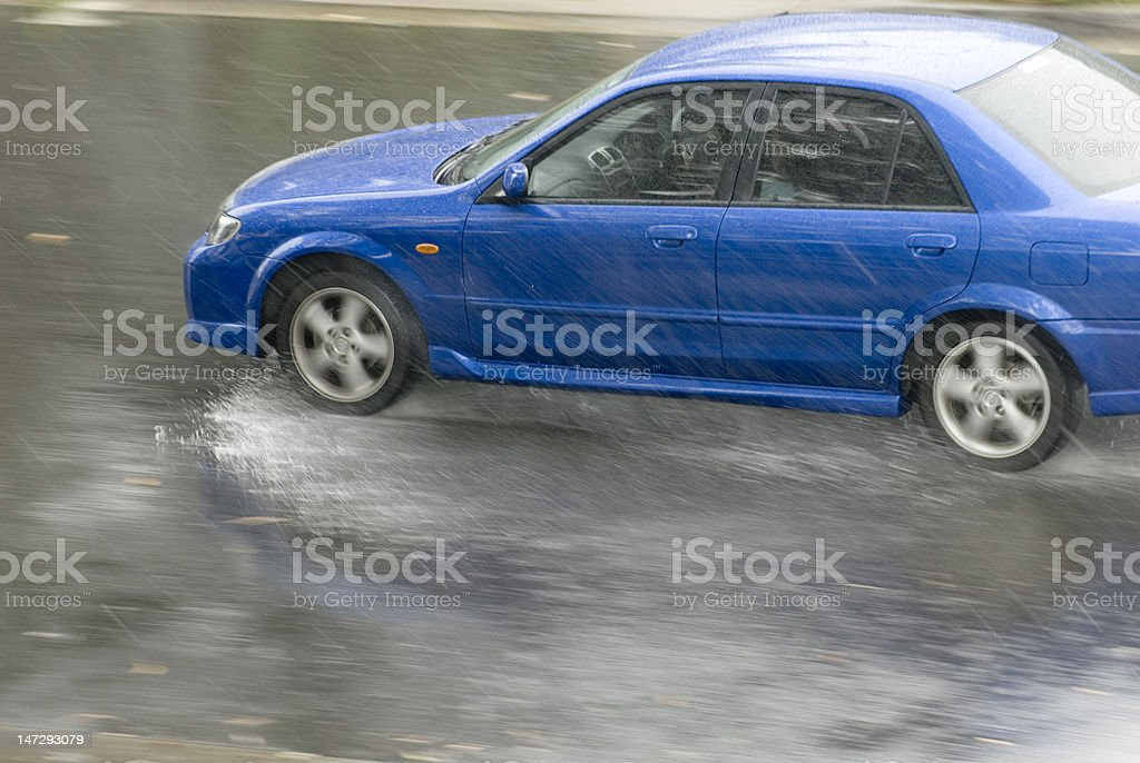 rainstorm stock photo