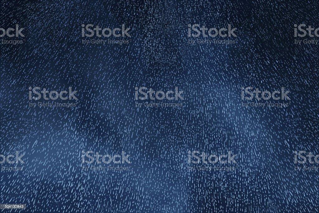 Rainy Night Sky stock photo
