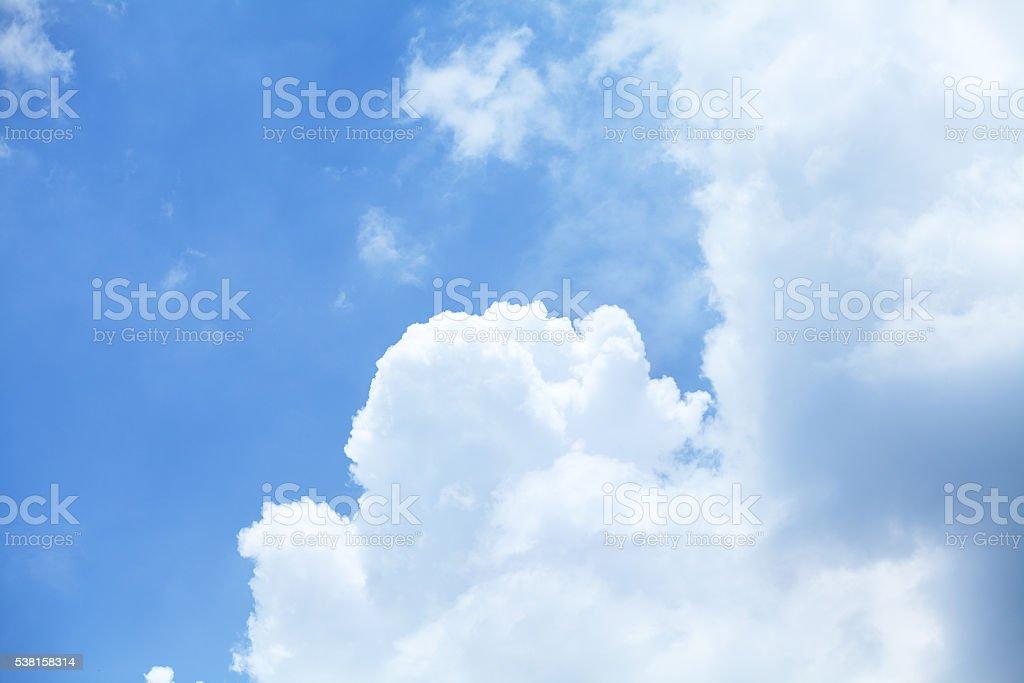 Rainy season clouds stock photo