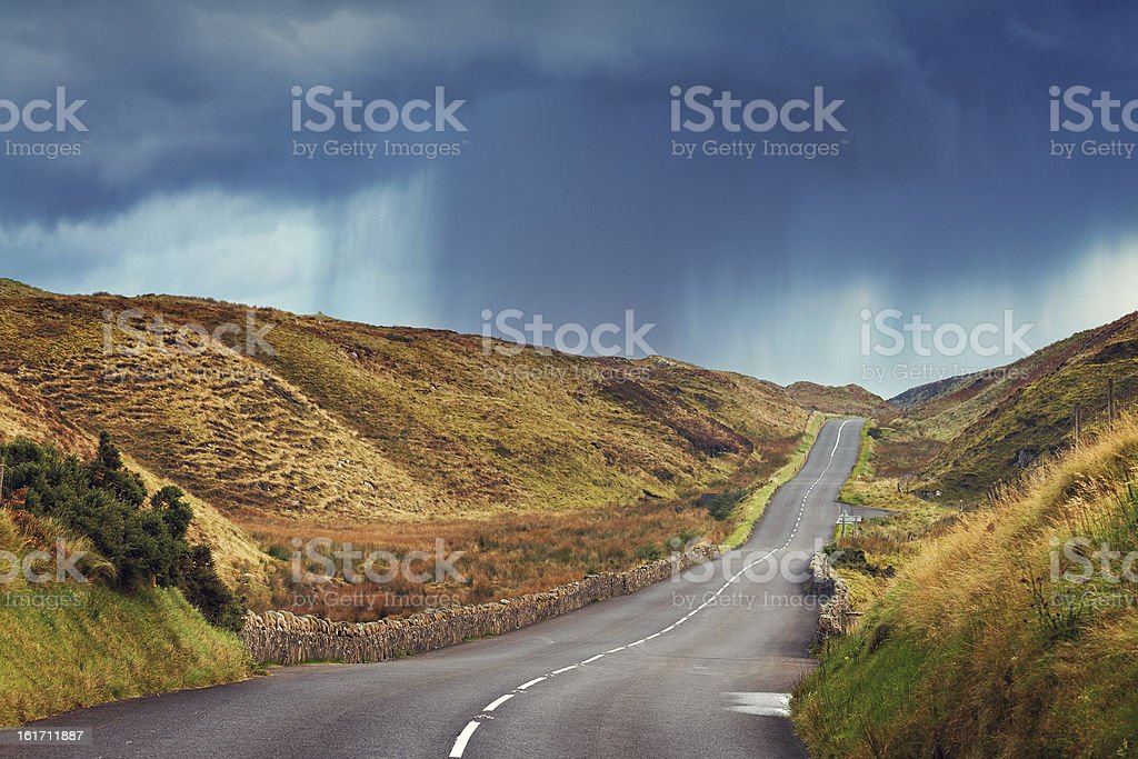 rainy weather royalty-free stock photo