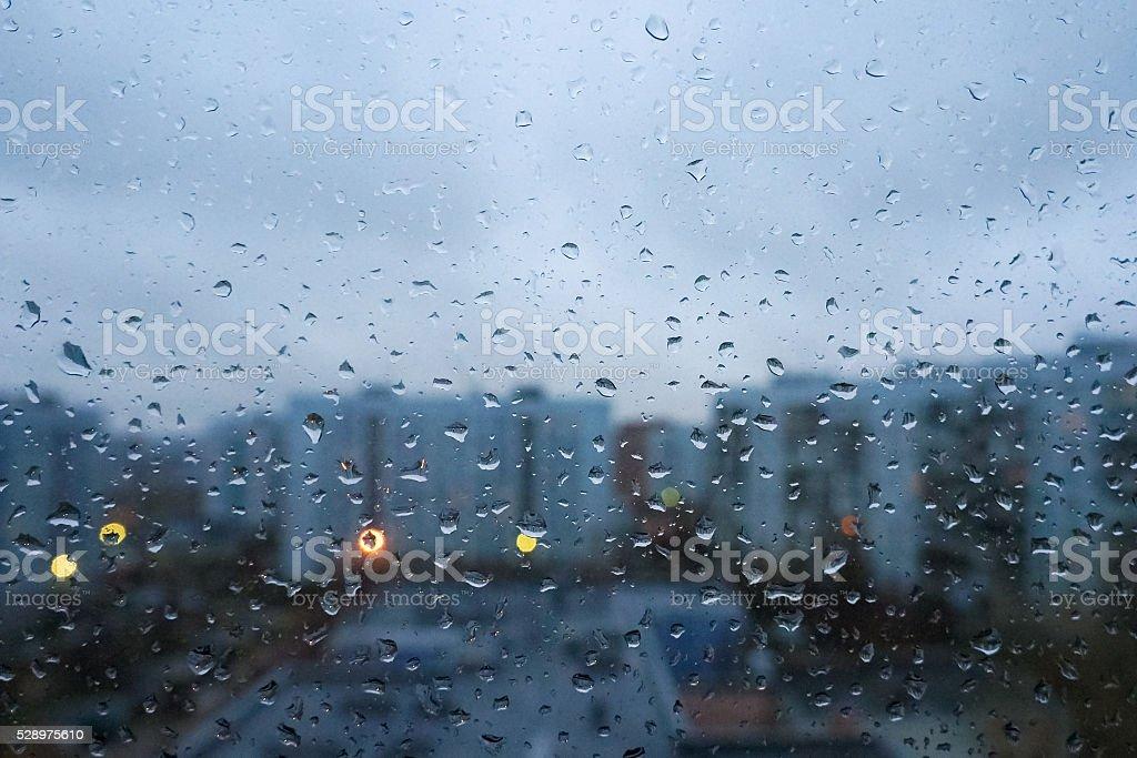 Tempo chuvoso foto de stock royalty-free