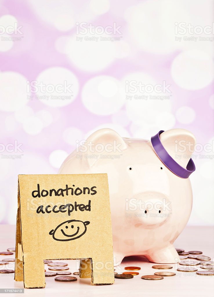 Raise Money for Alzheimer's Research stock photo