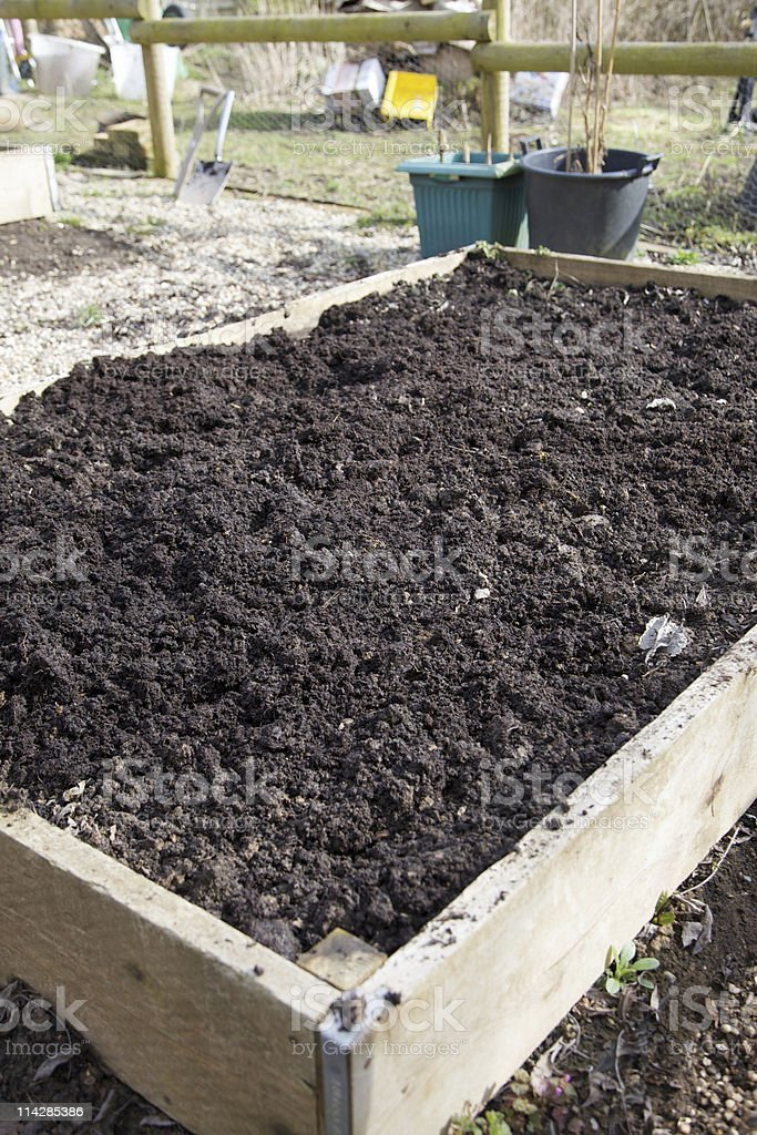 Raised Bed... royalty-free stock photo