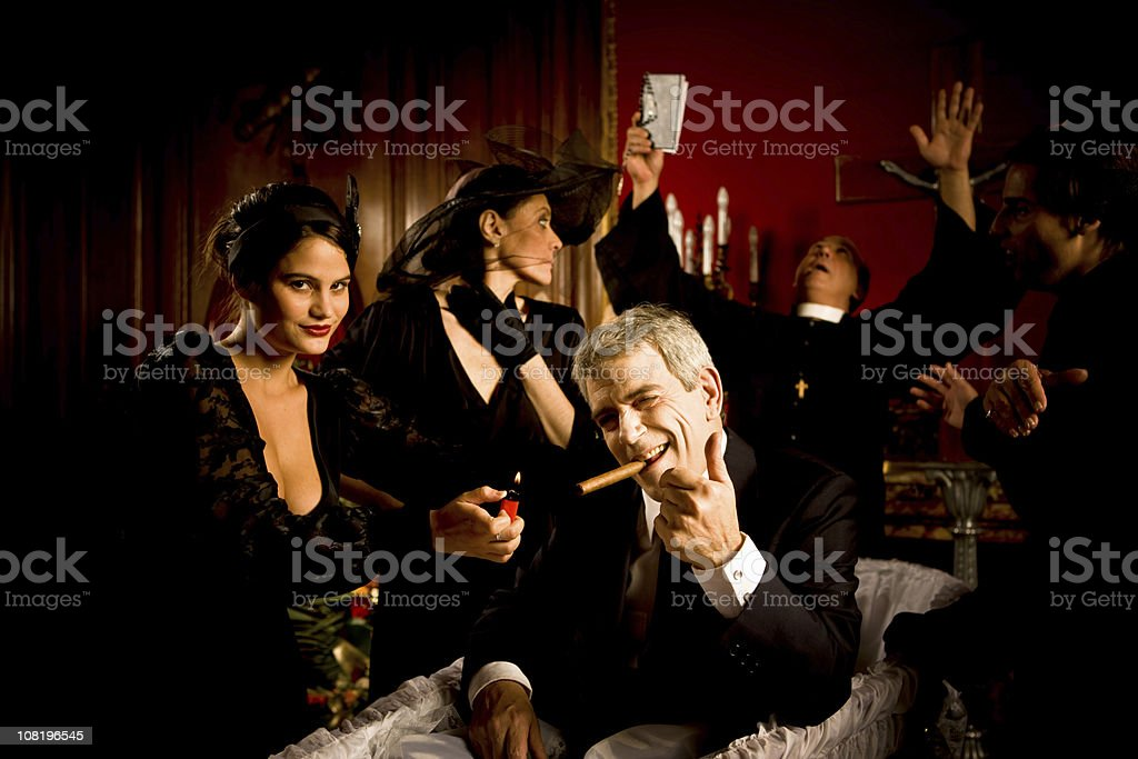 Raised from the dead royalty-free stock photo
