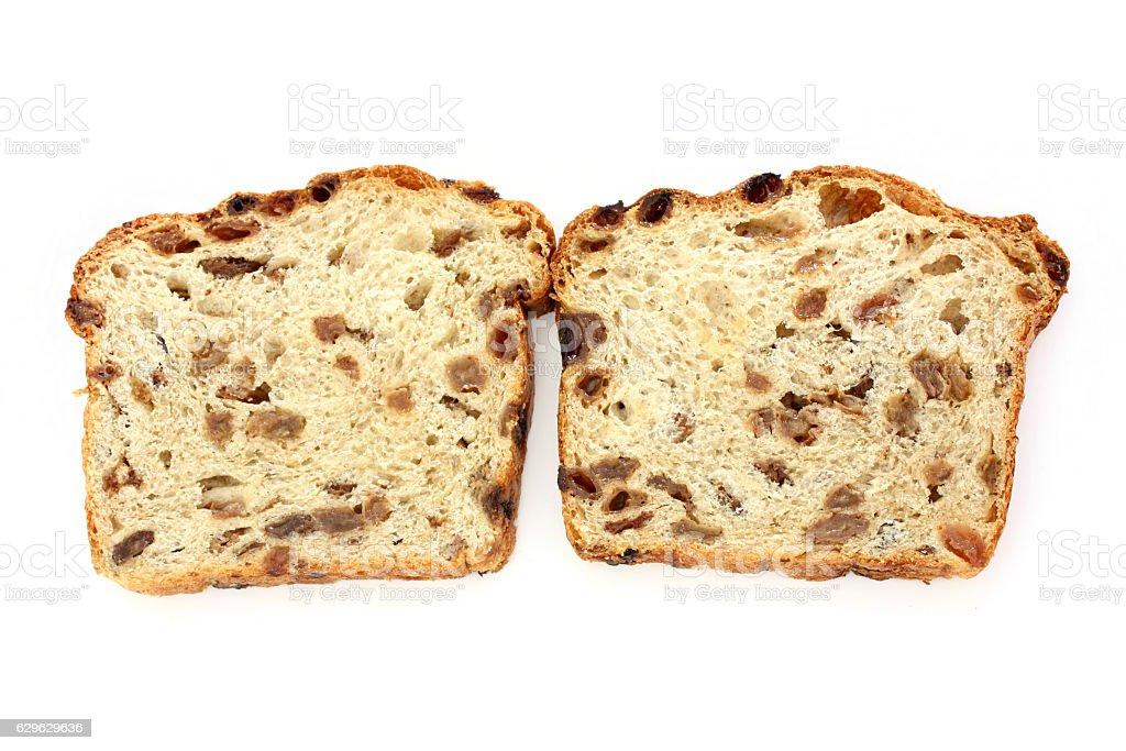 Raisin Bread stock photo