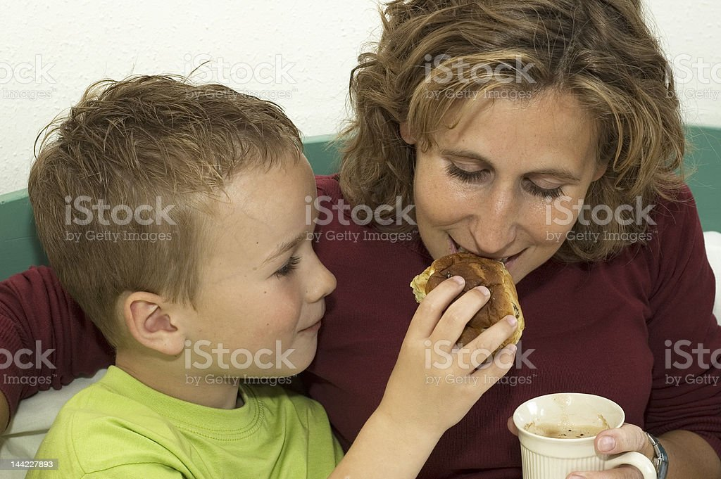 Raisin Bun royalty-free stock photo