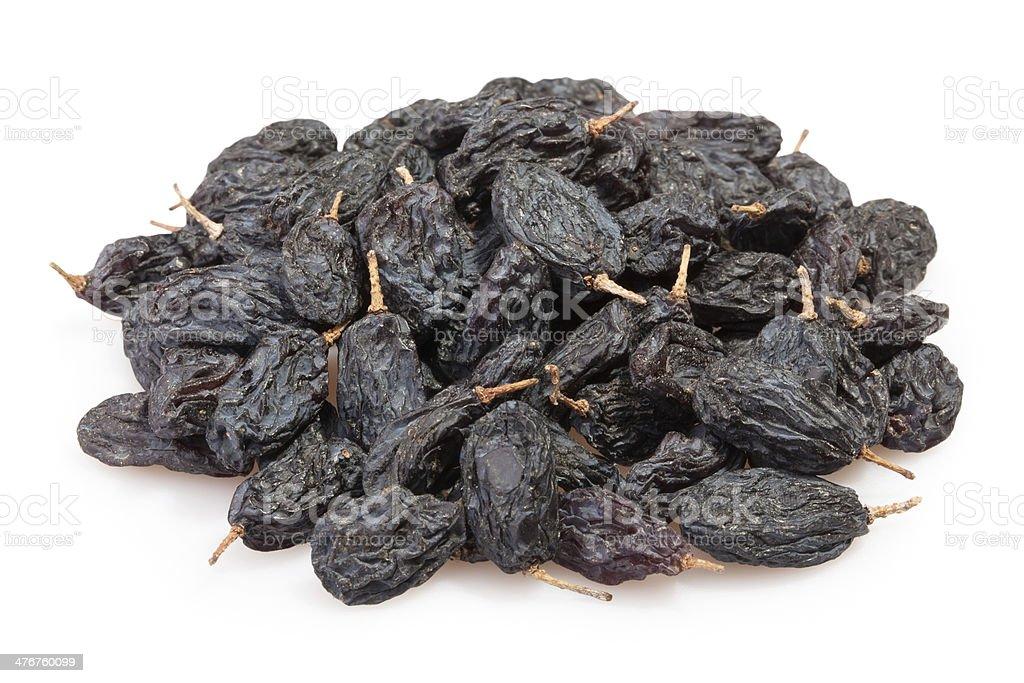 raisins black heap royalty-free stock photo