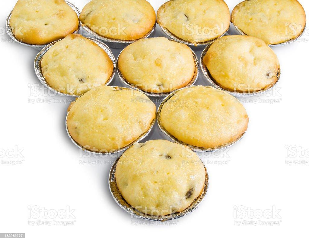 Raisins muffin royalty-free stock photo