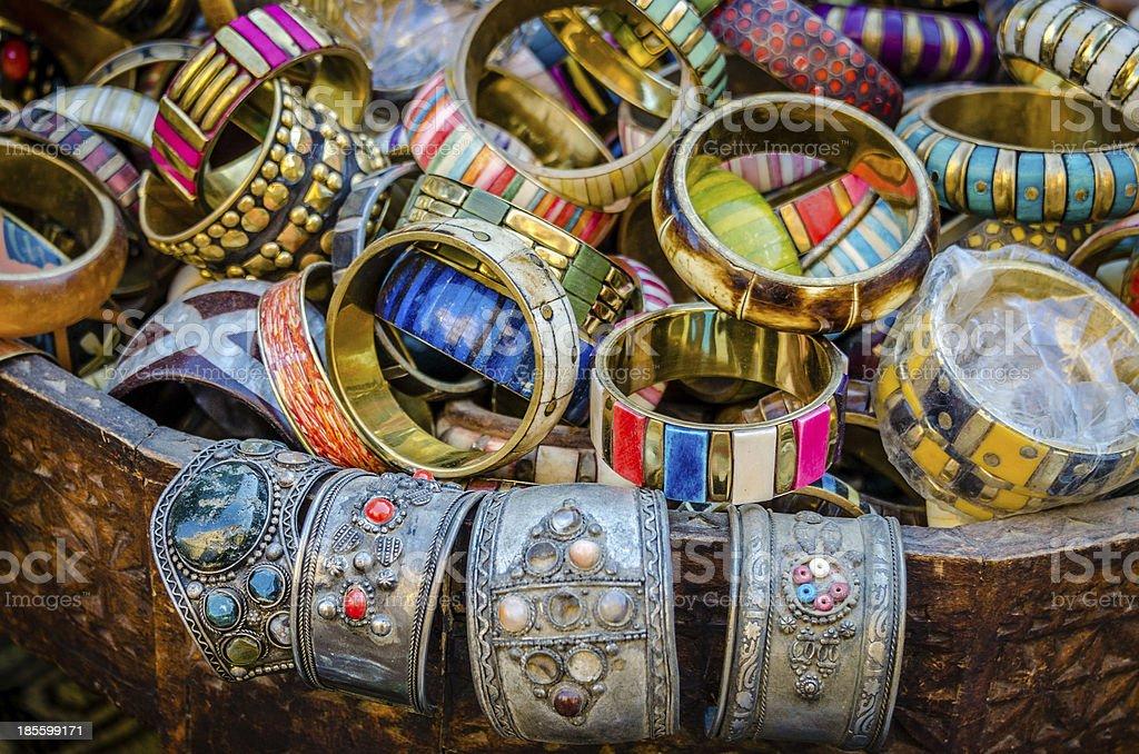 Rajasthani bracelets royalty-free stock photo