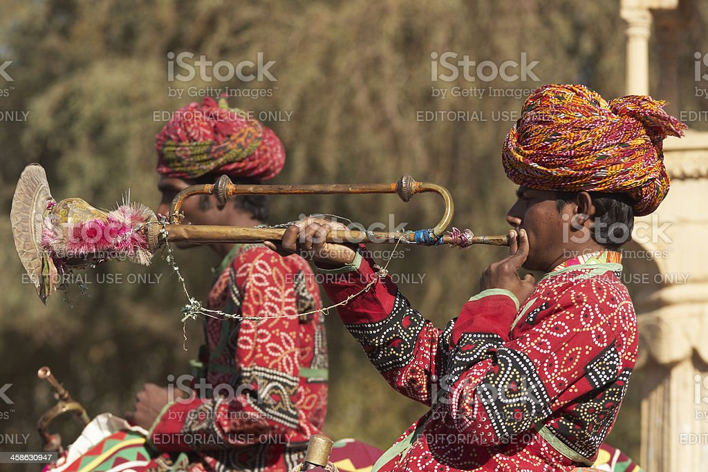 Rajasthani Music stock photo