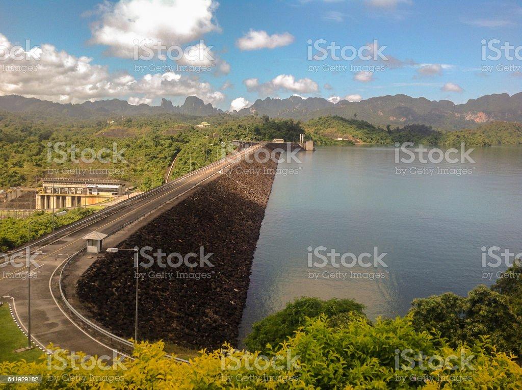 Rajjaprabha Dam stock photo