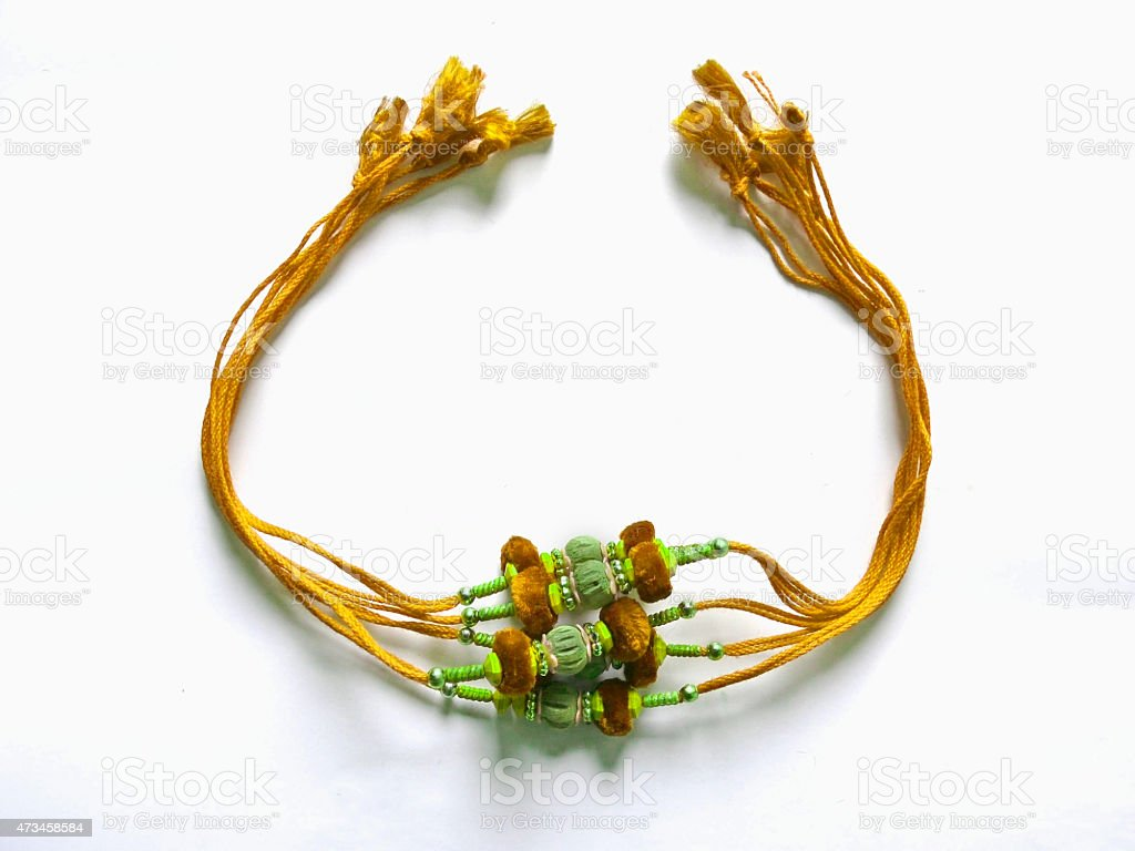 Rakhi, Raksha Bandhan stock photo