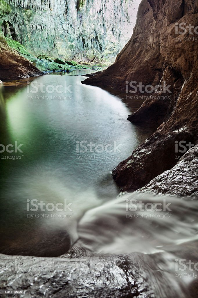 Rakov Skocjan water cave royalty-free stock photo