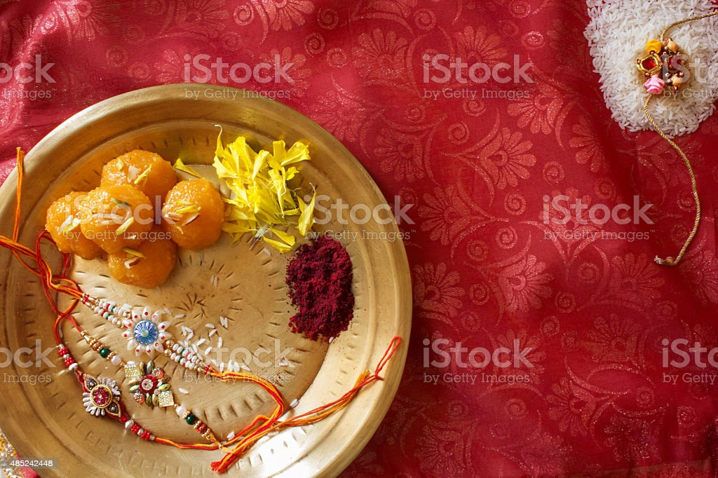 Raksha Bhandan stock photo