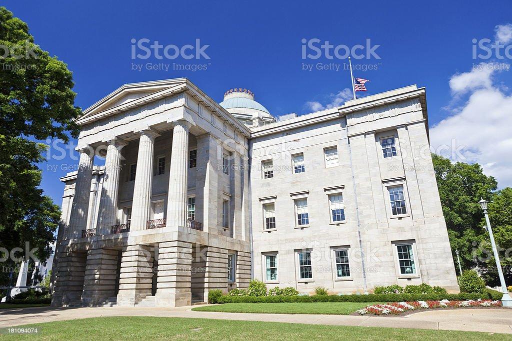 Raleigh, North Carolina Capitol Building stock photo