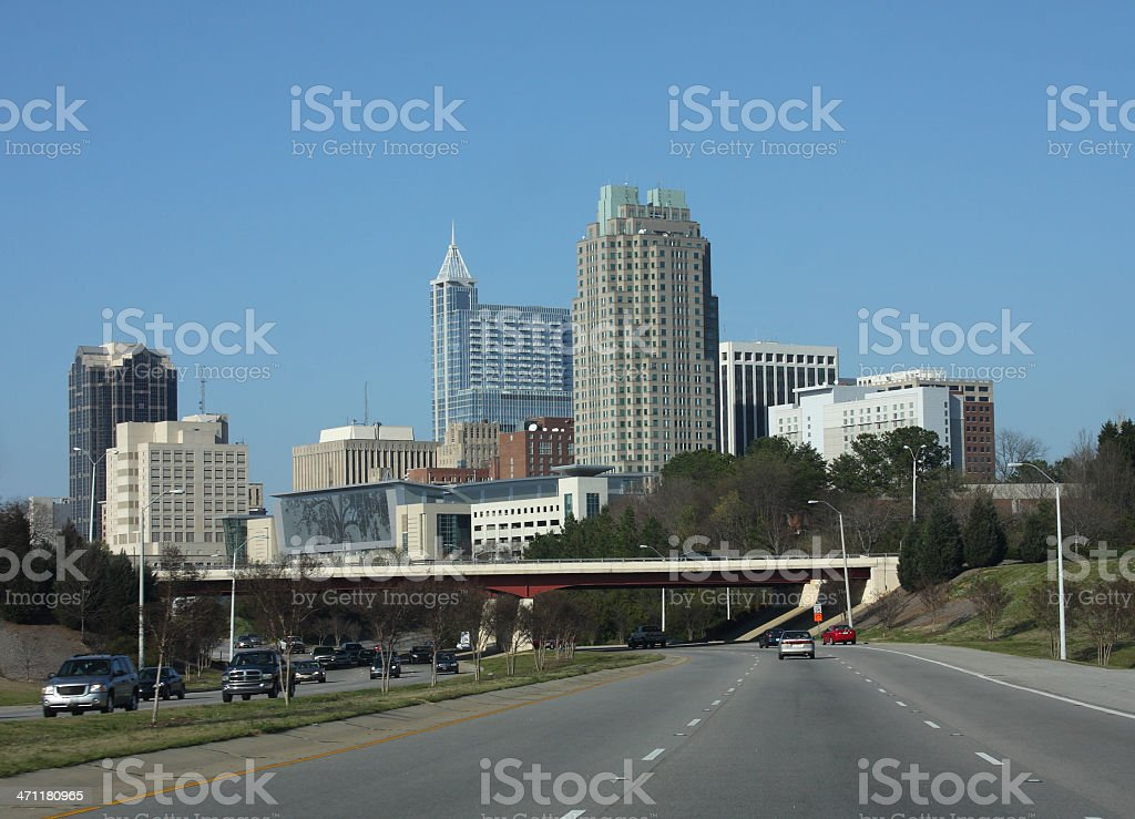 Raleigh North Carolina royalty-free stock photo