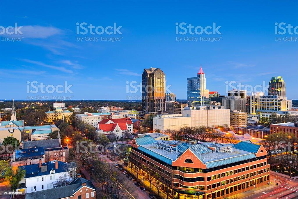 Raleigh North Carolina stock photo