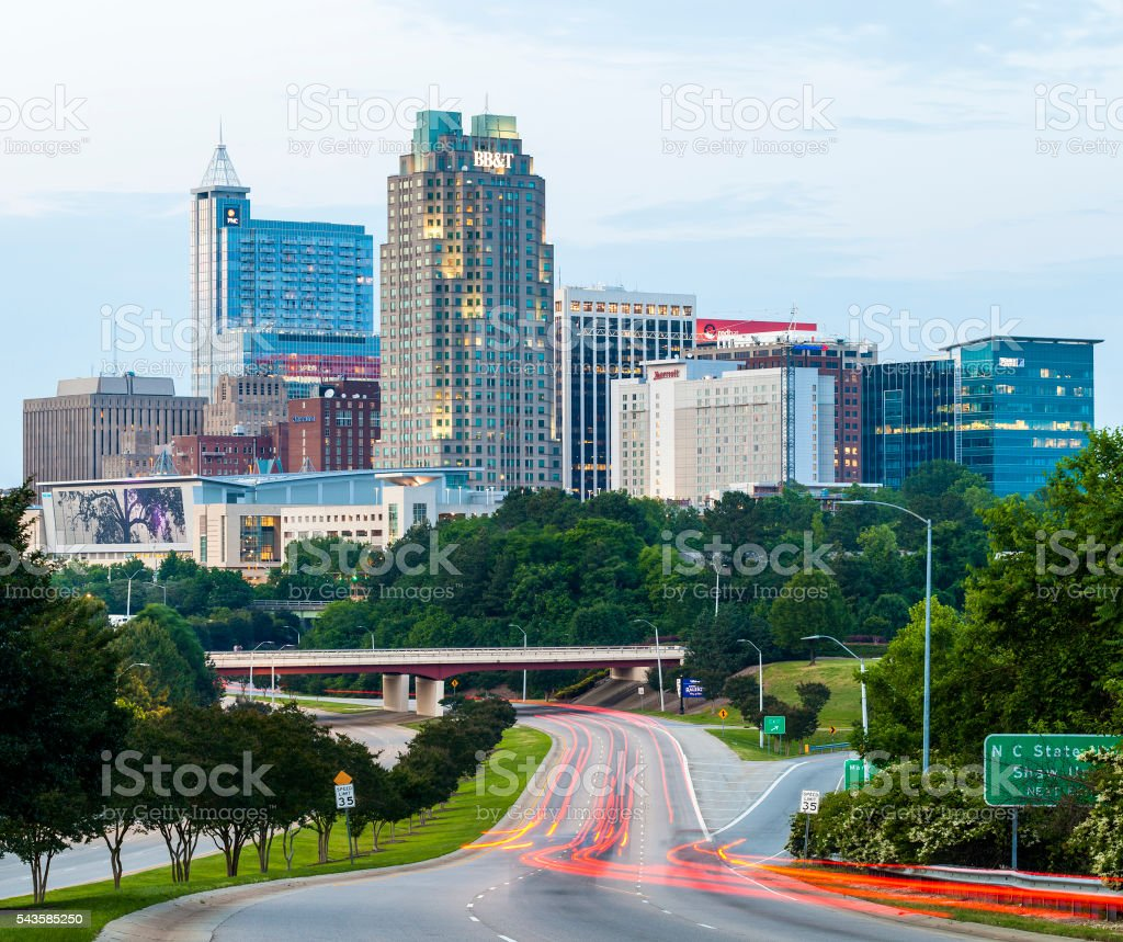 Raleigh, North Carolina, USA stock photo