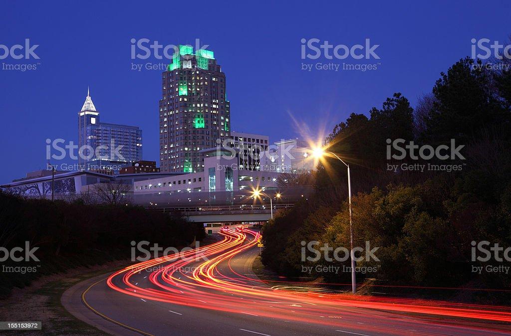 Raleigh stock photo