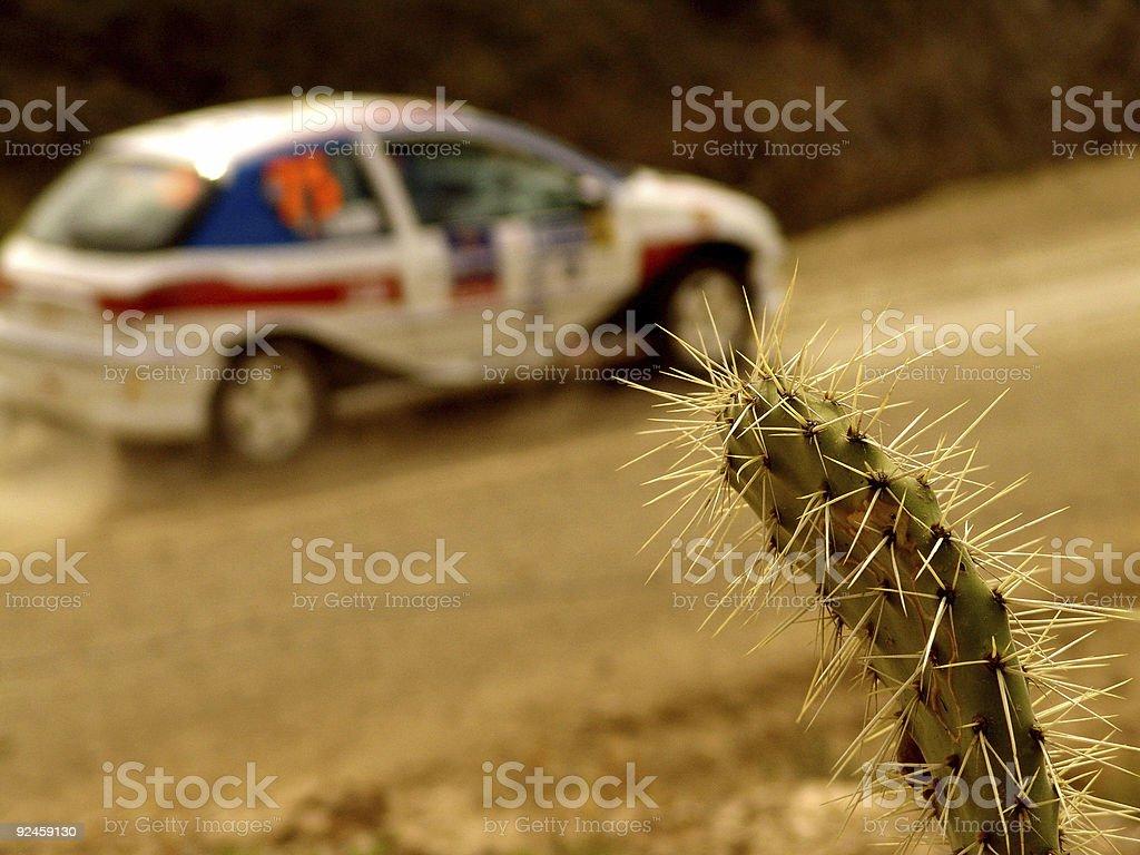 Rally WRC 2005 stock photo