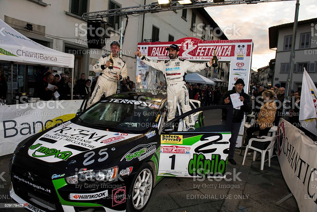 RallyDay Fettunta 2014 stock photo