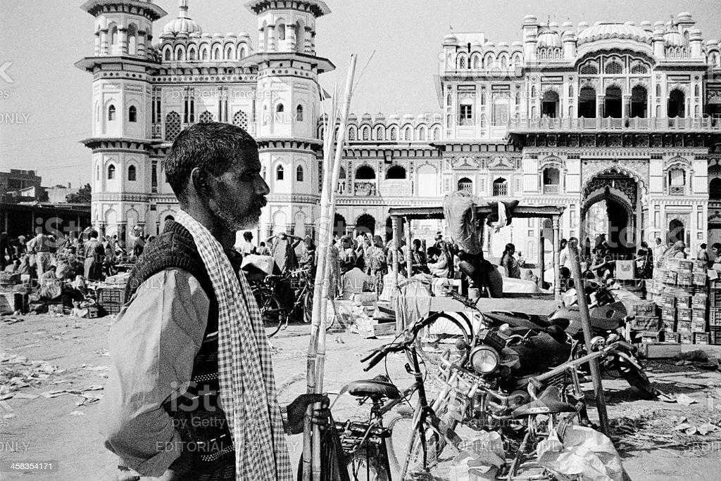 Ram Janaki Temple stock photo