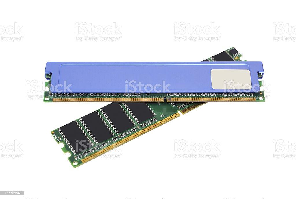 Ram memory royalty-free stock photo