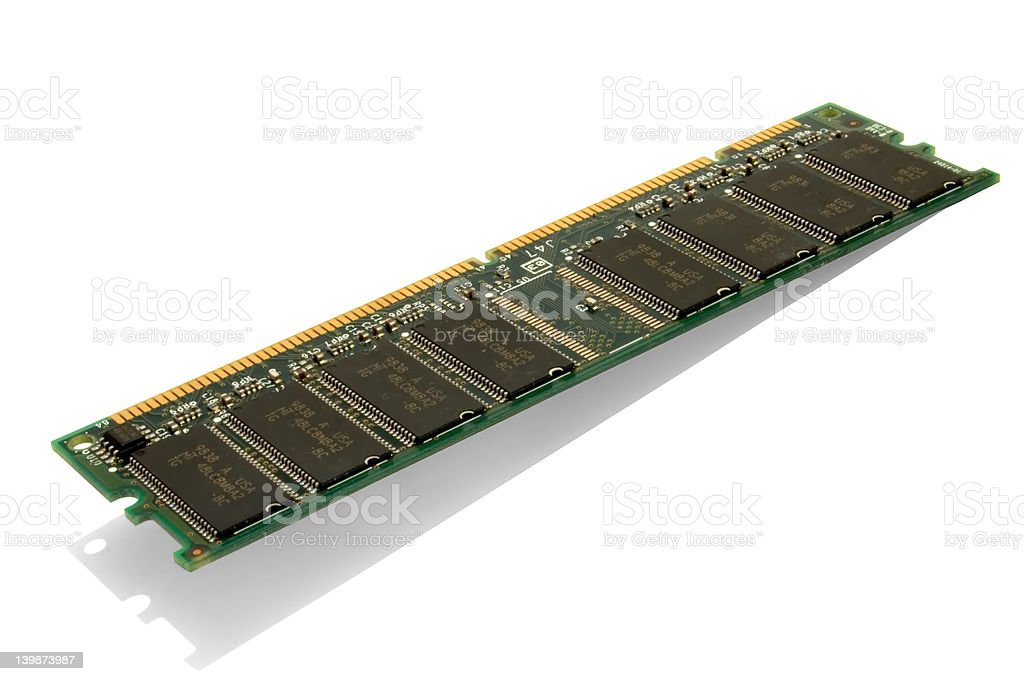 Ram_chip_1 royalty-free stock photo
