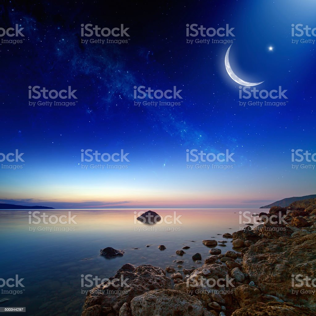 Ramadan background stock photo
