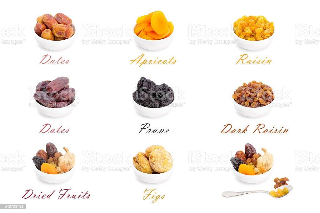 Ramadan Dried Fruits stock photo