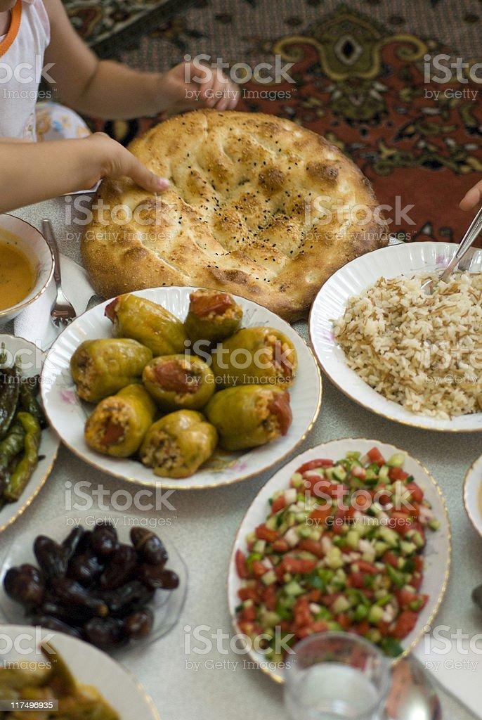Ramadan Food, Istanbul, Turkey stock photo
