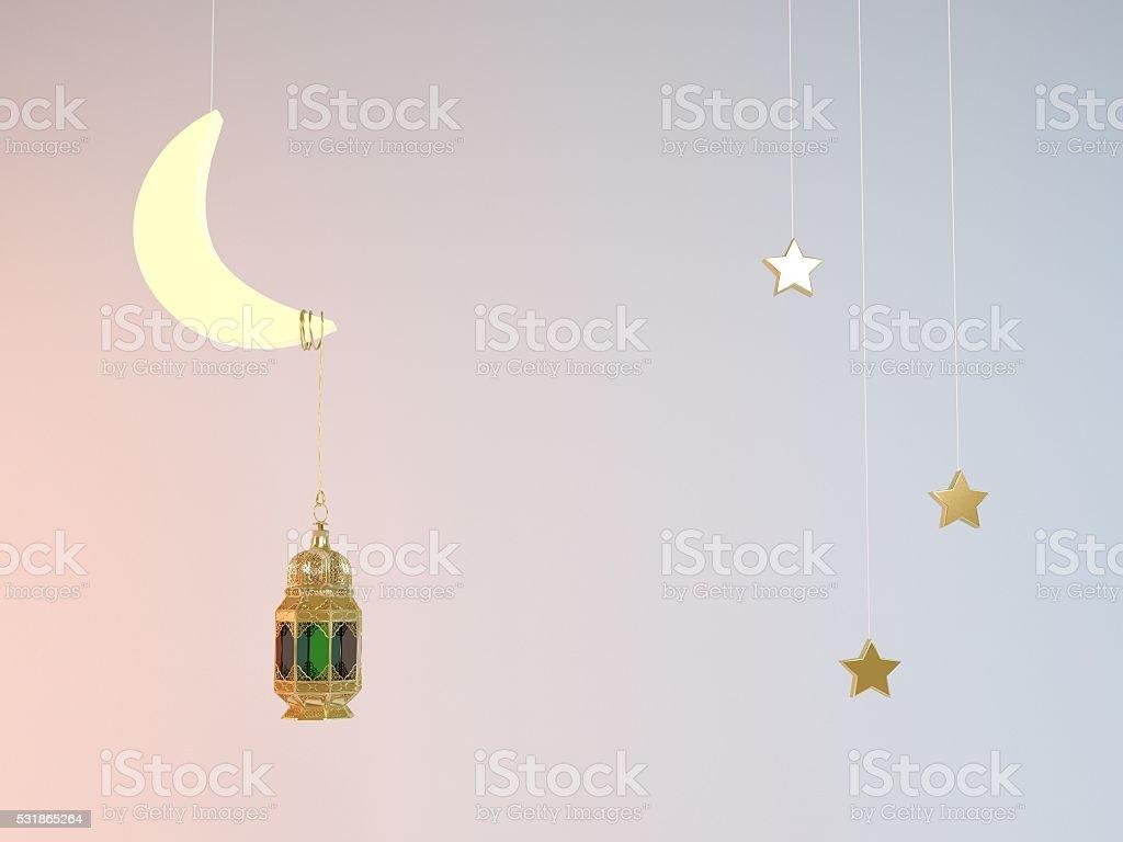 Ramadan Kareem illustration stock photo