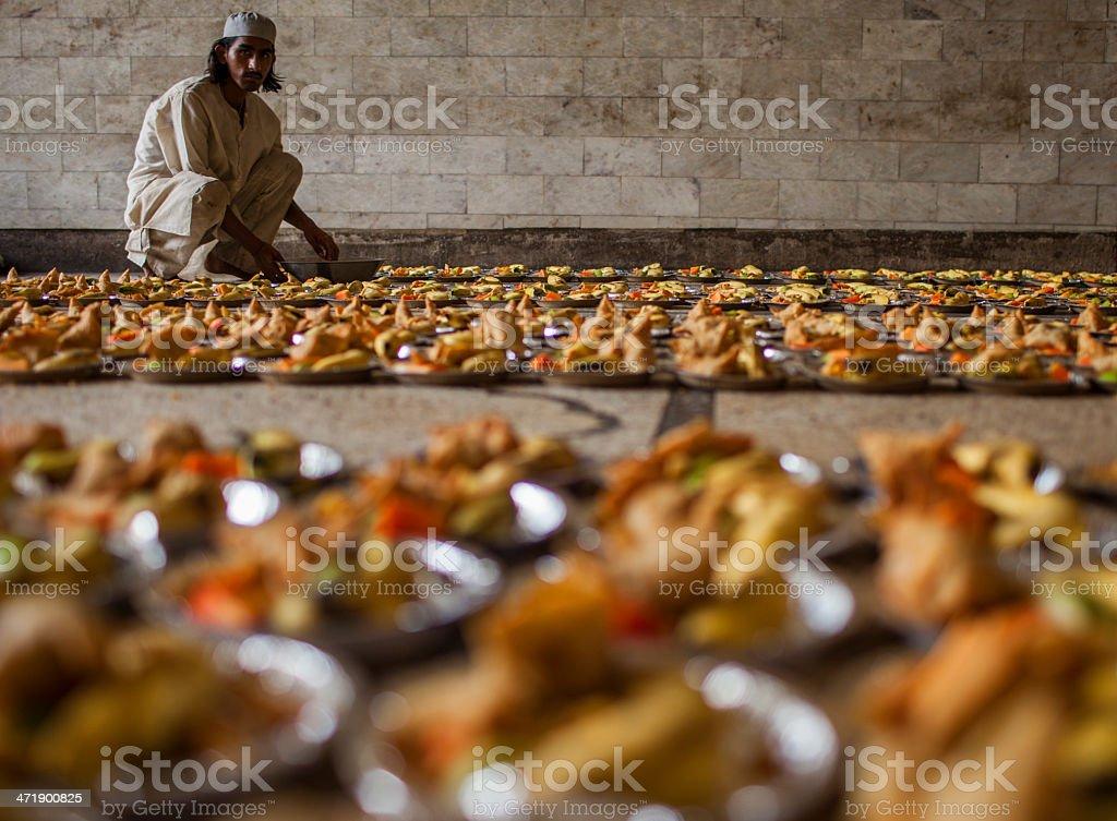 Ramadan offerings stock photo