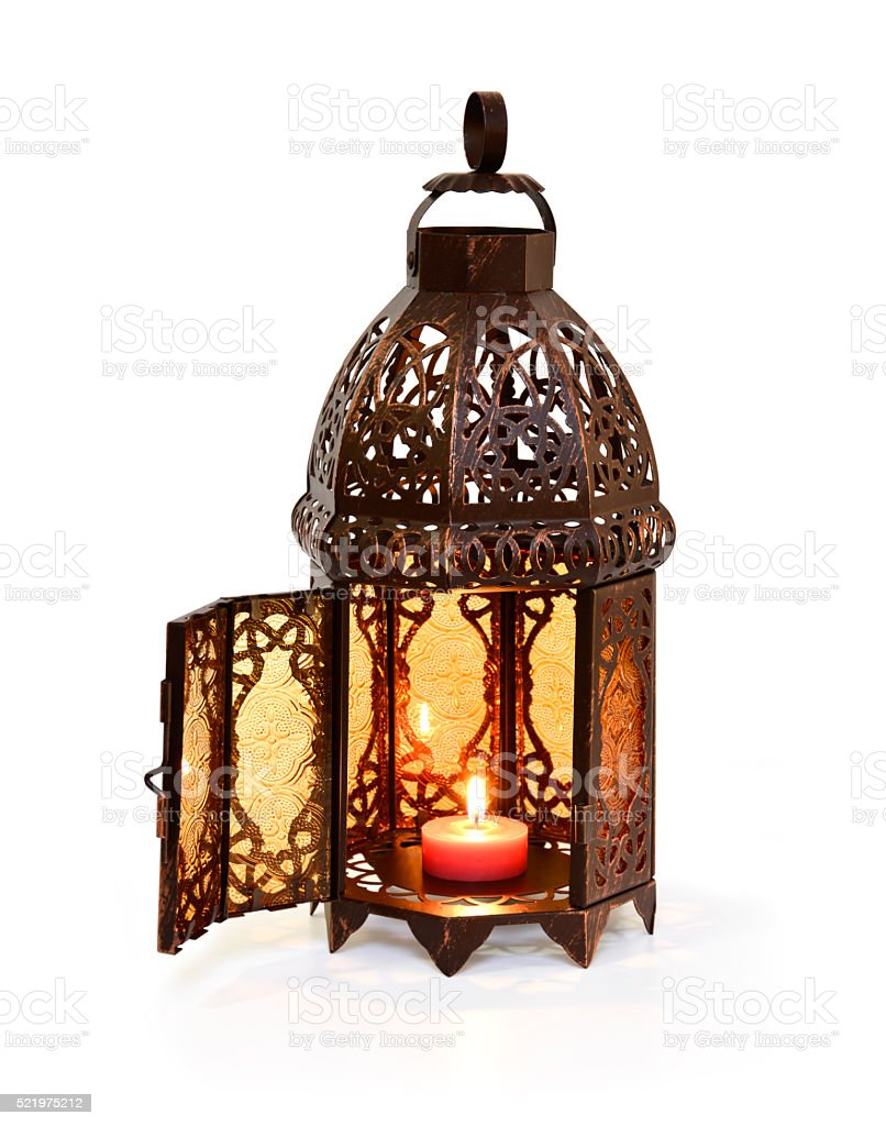 Ramadan Open Lantern stock photo