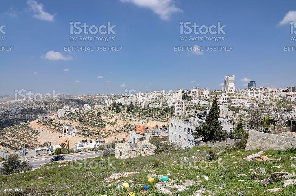 Ramallah Palestine stock photo