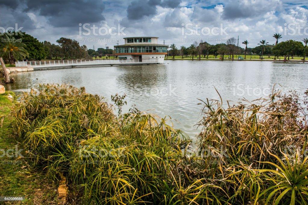 Ramat Gan park, Israel stock photo