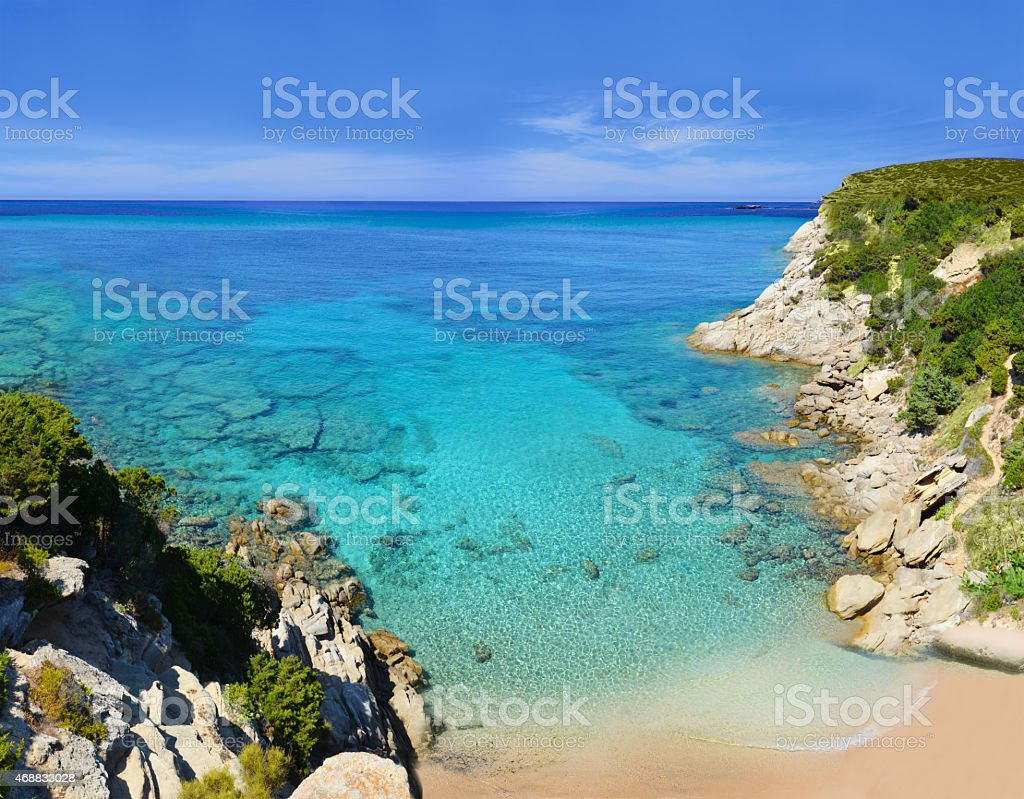 Ramatuelle near St-Tropez, Cote d'Azur, Southern France stock photo