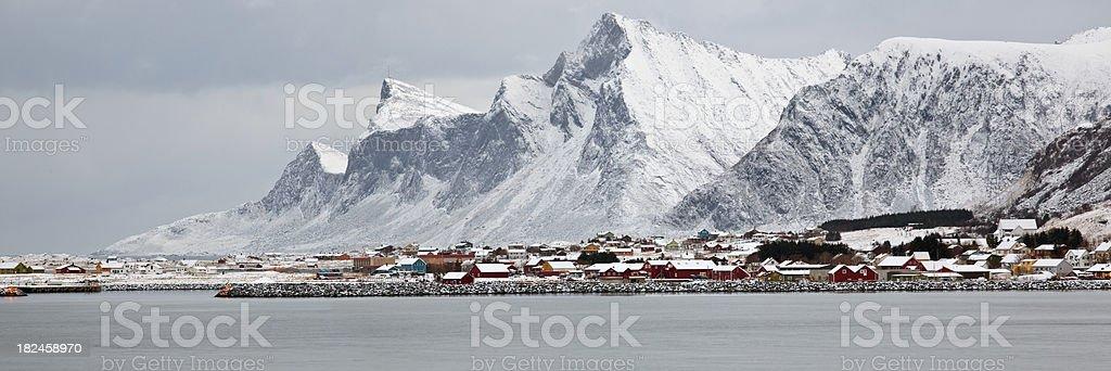 Ramberg Panoramic. stock photo